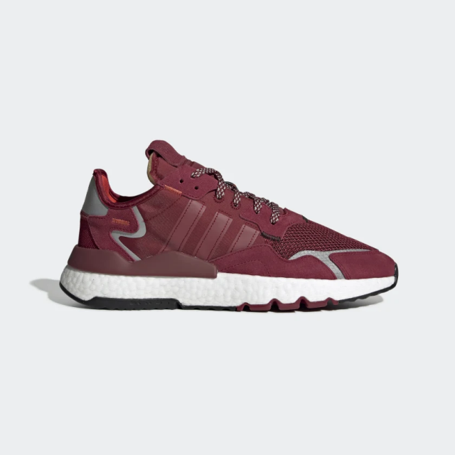 adidas Nite Jogger Shoes - Burgundy -EE5870