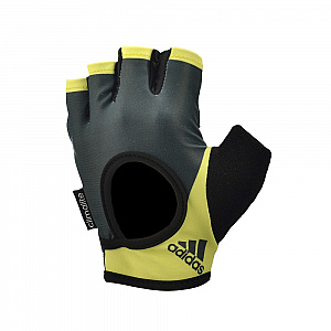 Women's Fitness Gloves - Frozen Yellow Sunset (L)