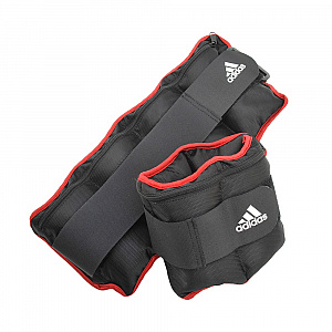 Adjustable Ankle Weights (2 x 1Kg)