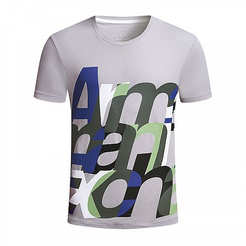 Armani Exchange CLOSE KERN LOGO TEE