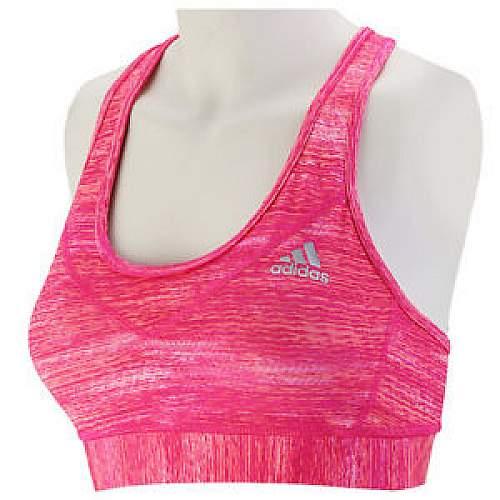 Adidas Women Techfit Padded Bra - Pink