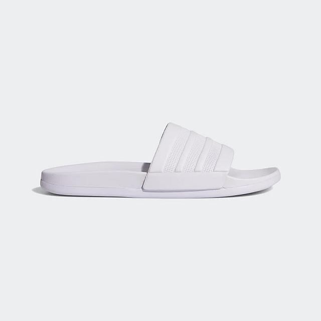 adidas Adilette Comfort Slides - Purple -EG7645