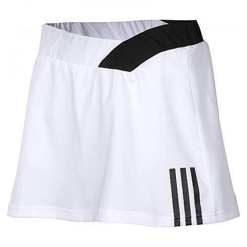 Response Tennis Skirt-White/Black