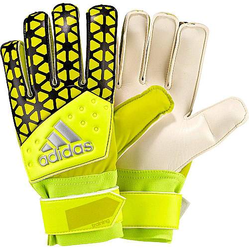 ACE training solar yellow goalie gloves - Yellow