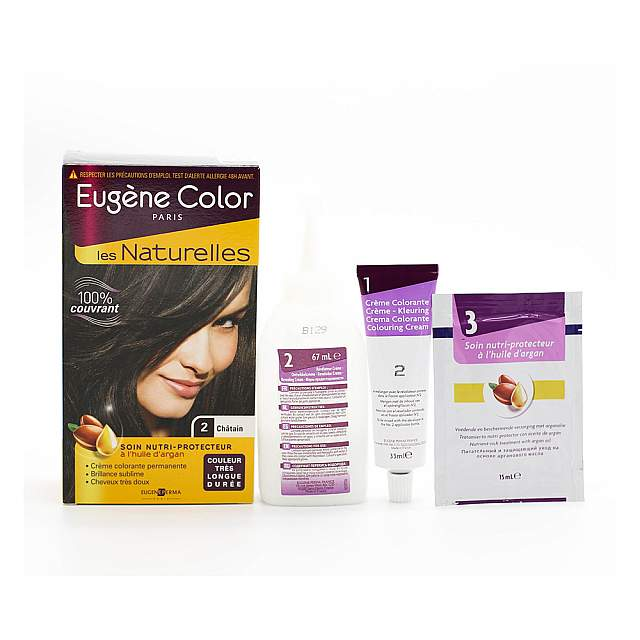 Eugene,  Les Naturelles 2 Hair Coloring , Brown Colo...