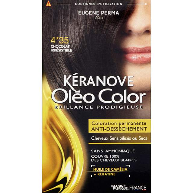 KERANOVE OLEO 03 - CHATAIN FONCE SECRET