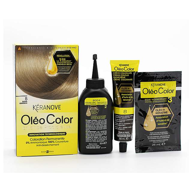 Keranove,  Oleo 08 Hair Coloring, Blonde obsession C...