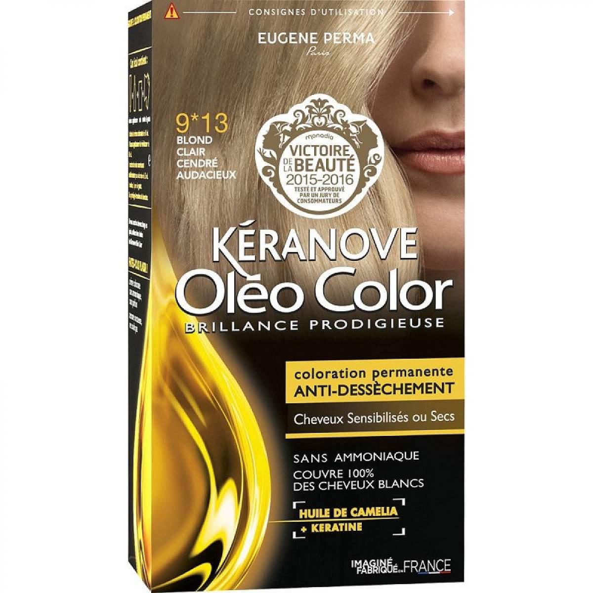 Buy Keranove Oleo 0913 Blond Clair Cendre Audacieux Online La