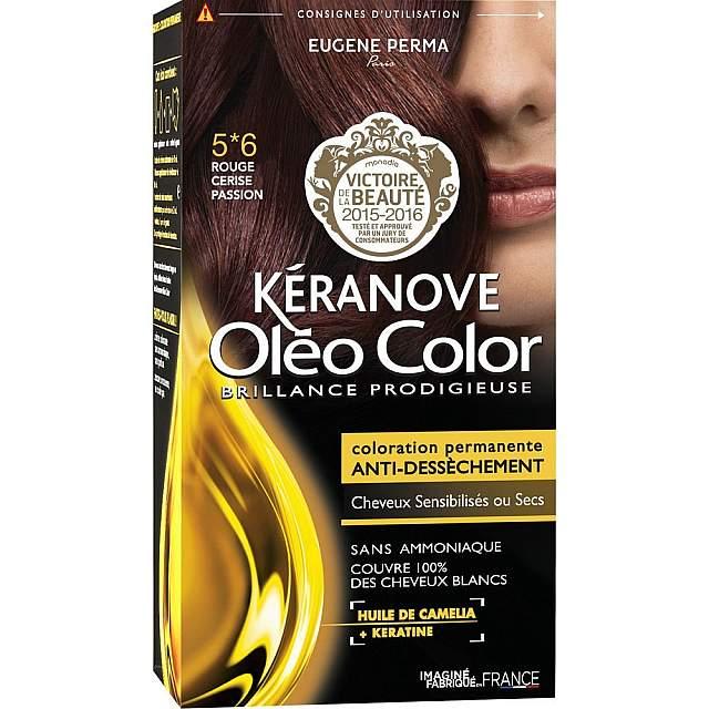 KERANOVE OLEO 05*6 - ROUGE CERISE PASSION - NOUVEAU