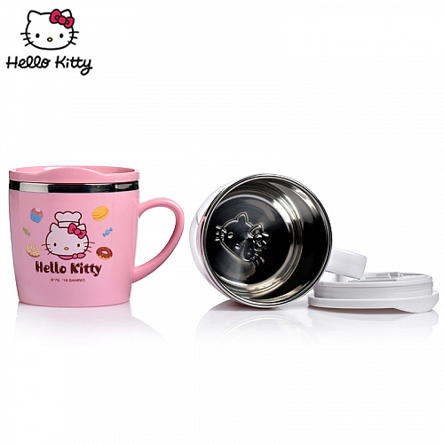 Hello Kitty Stainless Steel Cup 200ml