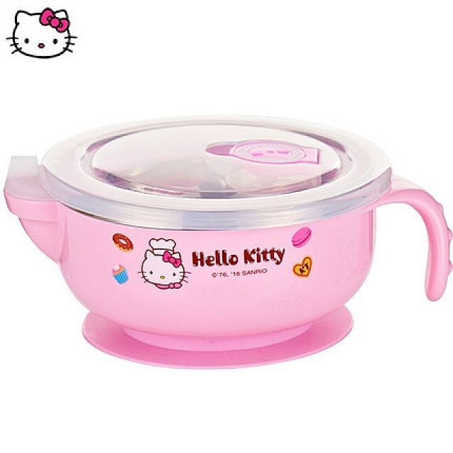 Hello Kitty Stainless Steel Child Bowl 300ml