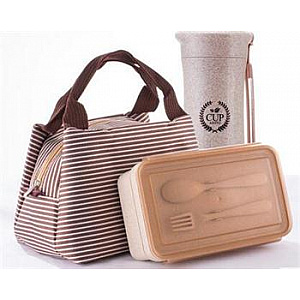 Food box & Thermos with fashion bag