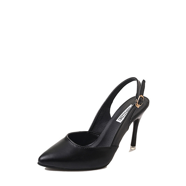 High Heel Sandal-Black
