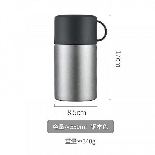 Hot/Cold Vacuum Flask 500ml