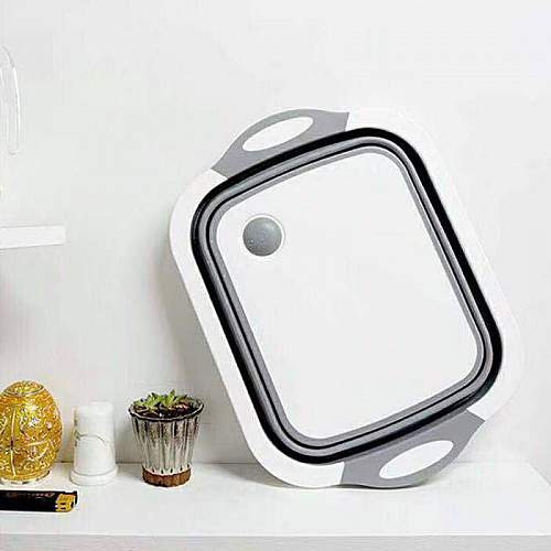 Multifunction Foldable Kitchen Sink & Cutting board