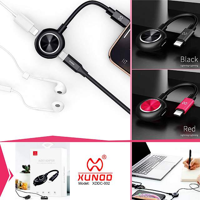 Audio Adapter Charger Cable and Headphone XUNDD (XDD...