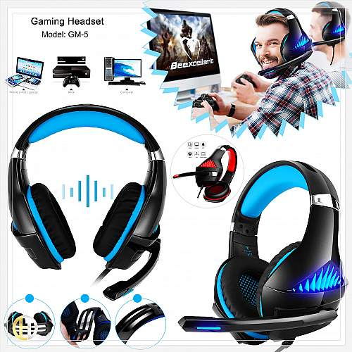 Pro Gaming Headset Be Excellent GM5