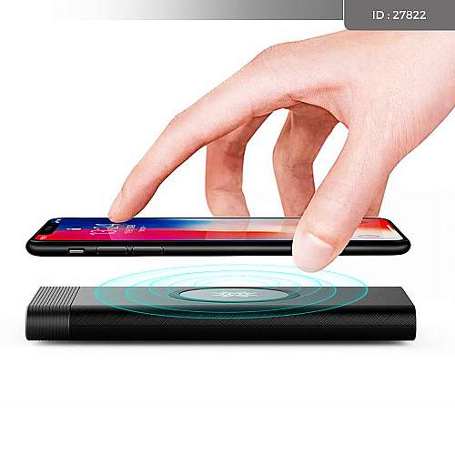 Wireless Charger Power Bank Rock RMP0385