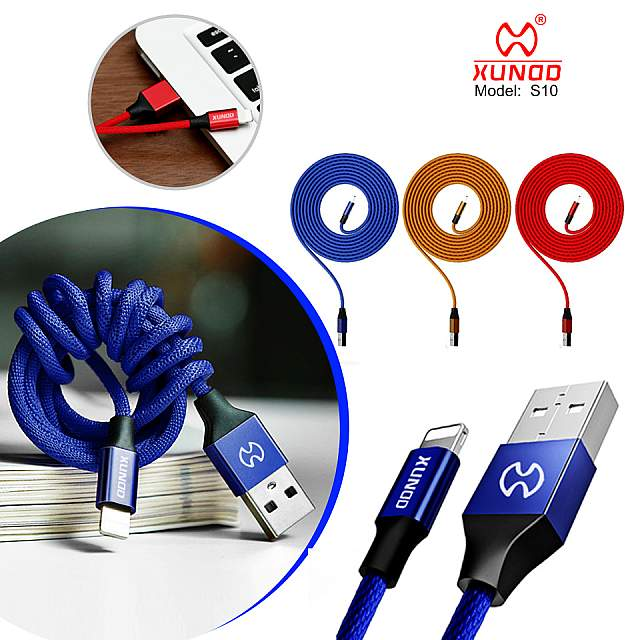 Data Line XUNDD Charger Cable Velocity Series (S10) ...