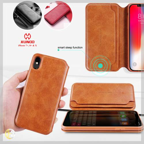 XUNDD Leather Open Case