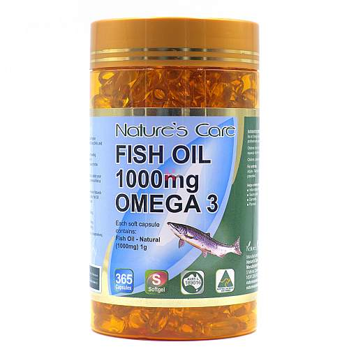 Fish Oil 1000mg Omega 3