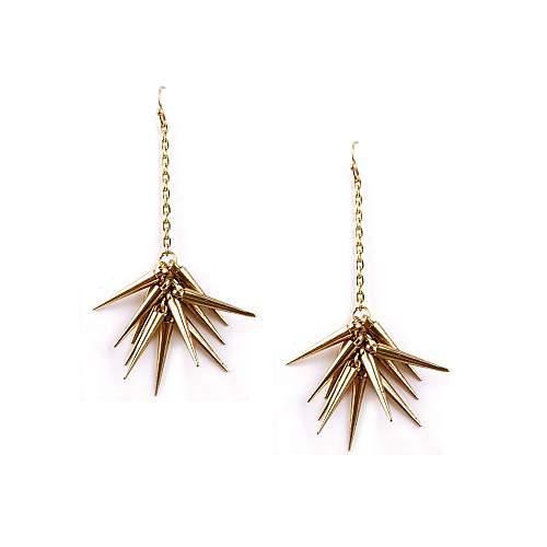 Funky Fish Spiky Dangle Earrings