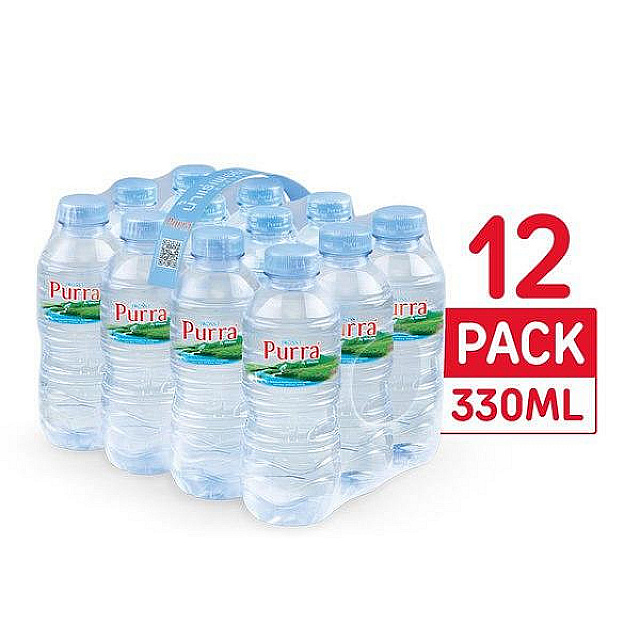 Purra Natural Mineral Water 330ml*12