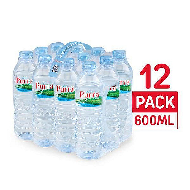 Purra Natural Mineral Water 600ml*12