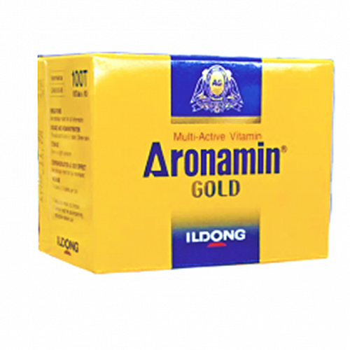 Aronamin Gold Multi-Active Vitamin ( 10Blisters X 10Tab/Box)