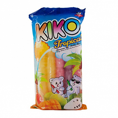 KIKO TROPICAL Assorted Ice Stick 3packs (1pack x 10 Sticks)