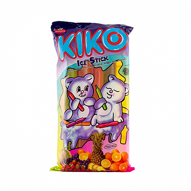 Kiko Assorted Ice Stick 3packs (1pack x 10 Sticks)