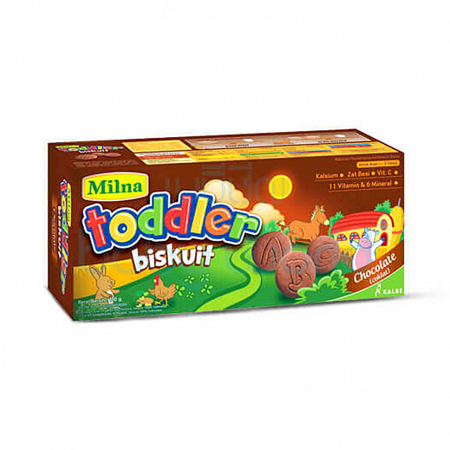 Milna Toddler Biskuit Chocolate (x2 Boxes)