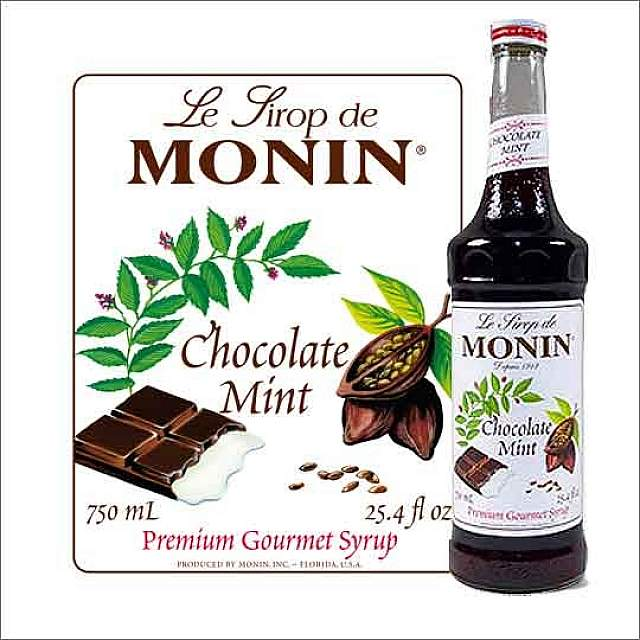 Coffee Flavor Syrups_Chocolate Mint