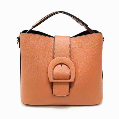 Buckle shoulder bag
