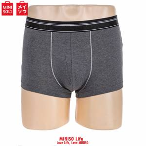 Men's Cotton Boxer Shorts(dark Grey 3xl)