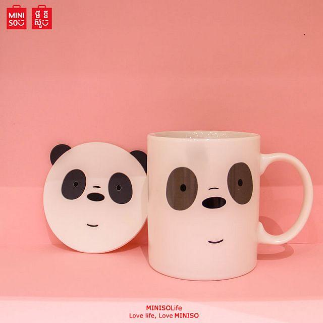 We Bare Bears Ceramic Mug (Panda)