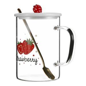 Glass Bottle450ml(strawberry)