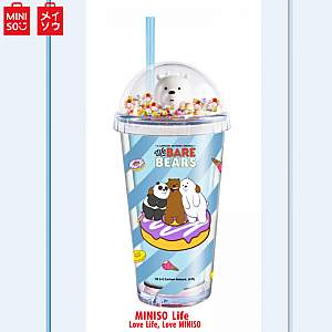 We Bare Bears Double Wall Cup 480ml(ice Bear)