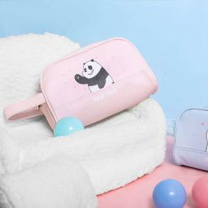 We Bare Bears Cosmetic Bag(panda)