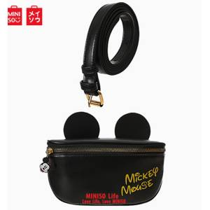 Mickey Mouse Collection Stereo Ear-shaped Crossbody Bag