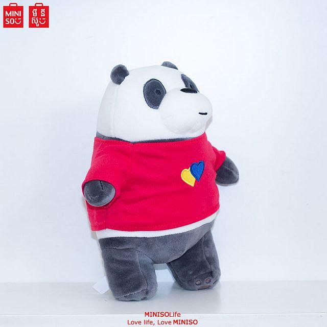 Let's Bare Bears-Costume Series Doll (Panda)