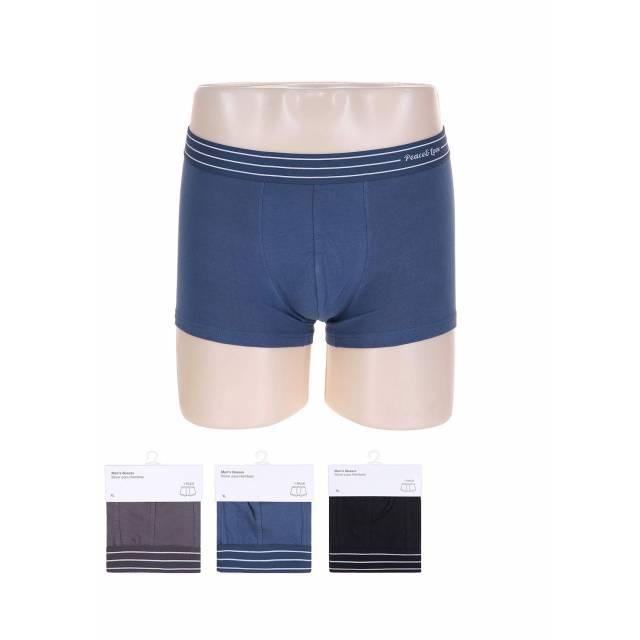 Men's Stripe Waistband Boxer Briefs (XL)