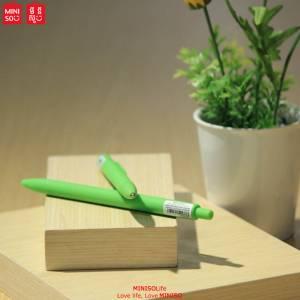 Retractable Gel Pen 0.7mm (fresh Green Barrel. Fresh Green Ink)
