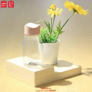 Plastic Water Bottle 320ml (pink)