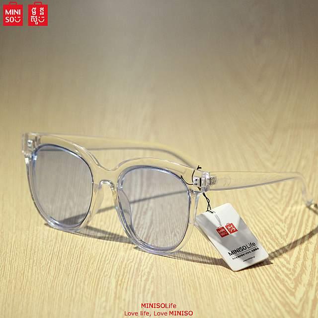 Women's Fashionable Large Frame Sunglasses (Light Bl...