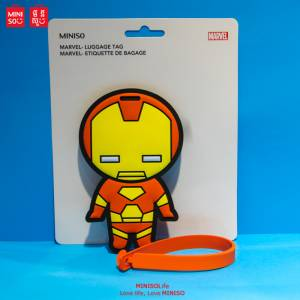 Marvel- Luggage Tag.iron Man