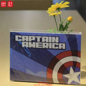 Marvel Stitch Bound Book-captain America