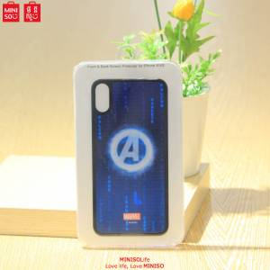 Marvel Tempered Protector For Iphone X/xs