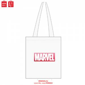 Marvel Shopping Bag.white