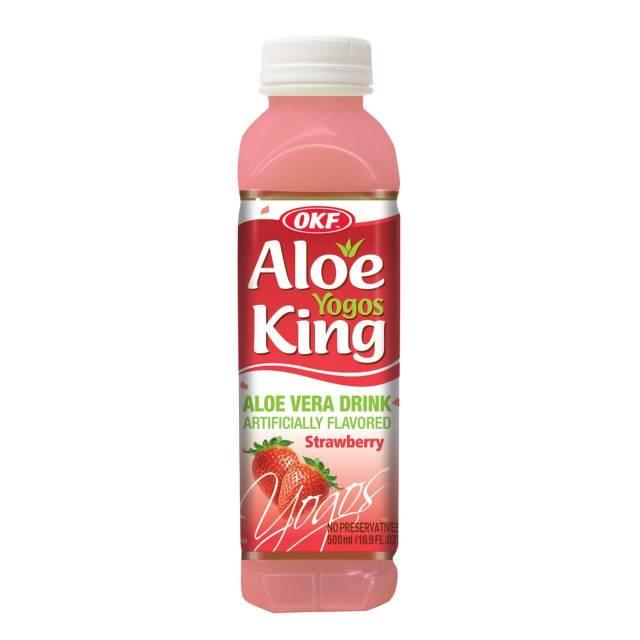 OKF Aloe Yogos Strawberry 500ml